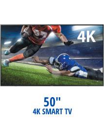 """50"""" 4K Smart TV"""